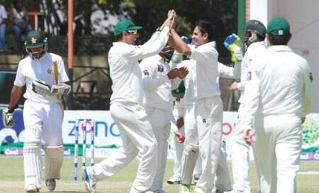 Spinners bowl Pakistan to crushing victory over Zimbabwe in HarareTest