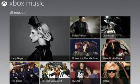 Microsoft Xbox Music launched on Web for free