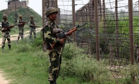 Heavy exchange of firing at LoC after Pakistani troops violate ceasefiretwice