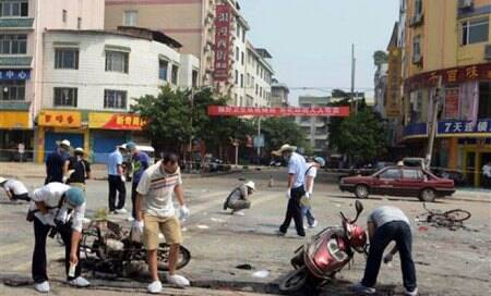 Four killed,14 injured in China explosion