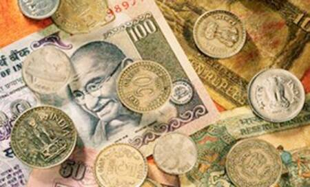 Indian rupee rises 46 paise to 63.38 vs US dollar,completes 5-day rally