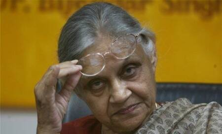 Difficult to check incidents of domestic abuse,violence: Sheila Dikshit