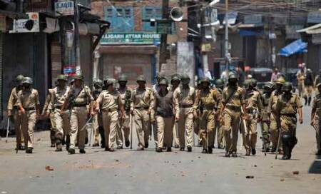 Curfew lifted from South Kashmir towns,except Shopian