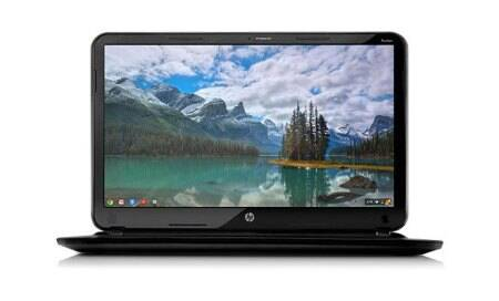 Hewlett-Packard unveils 'sleek and colourful' Chromebook14