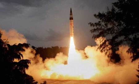 China reacts cautiously to India's second launch of Agni-V