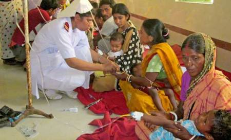 Hepatitis B vaccine given in place of polio drops in Bengal,67 children ill