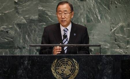 Ban Ki-moon says Syria resolution must be enforceable