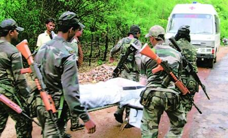Chhattisgarh forces under attack,from each other and from within