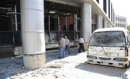 Syria: 19 killed after bomb hits bus in Homs province