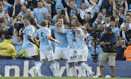City thrashes United 4-1 in Manchester derby