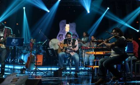 Rock band Agnee collaborates with Grammy winner for Punjabisong