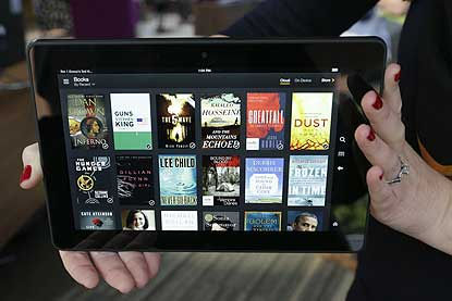 Amazon Kindle Fire HDX is slimmer,faster:Review