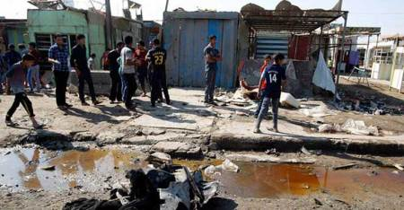 Iraq: Triple bombing at market near Baghdad kills 23,wounds 40