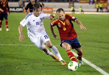 Spain,Football,World Cup qualifier
