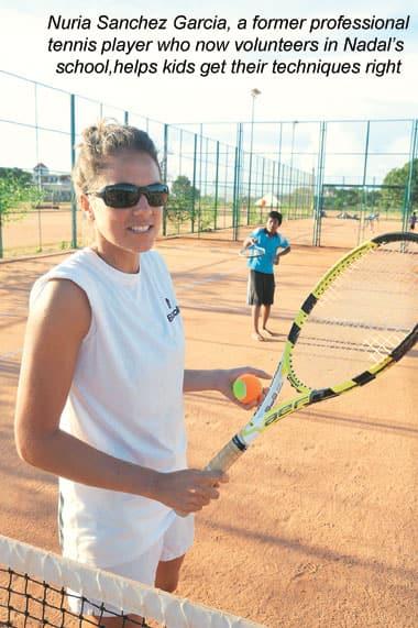 Nuria Sanchez Garcia,Rafael Nadal,Tennis