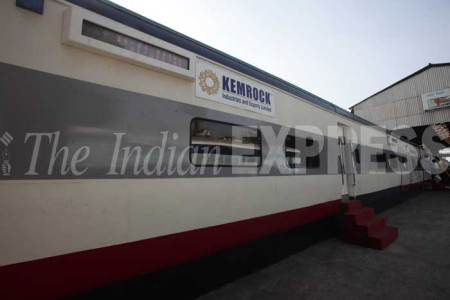 Western Railway's New Coach 'Anubhuti' At Mumbai Central Coach Depot
