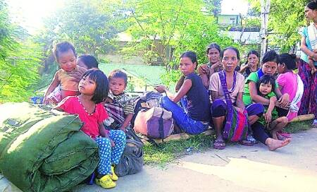 After 16 yrs,over 80 Bru families return to Mizoram from Tripura reliefcamps