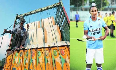 A labourer's 17-year-old son lives his hockey dream,promises more