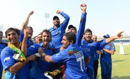 Afghanistan trounce Kenya,qualify for Cricket World Cup 2015