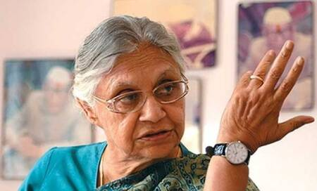 Produce proof to back charges of graft: Sheila Dikshit to BJP,AAP