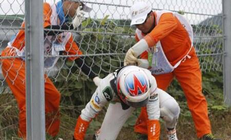 Sutil apologises for ending Webber's race; Di Resta says sorry for no points
