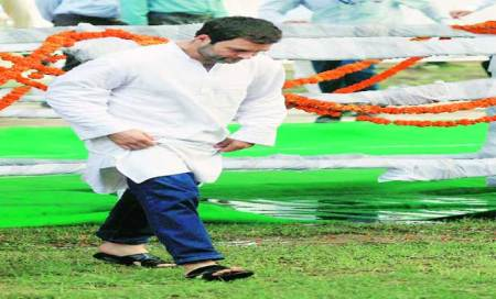 Will turn Amethi into agricultural hub,Rahul promises farmers