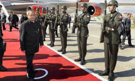 Pranab Mukherjee raises Pak terror issue with Turkey