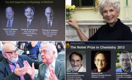Nobel Prizes 2013: Full list of winners