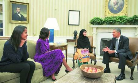 Praise & admiration abroad,animosity at home for Malala