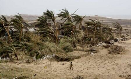 Cyclone Phailin claims 23 lives,over 90 lakh people affected by biggest storm in 14years