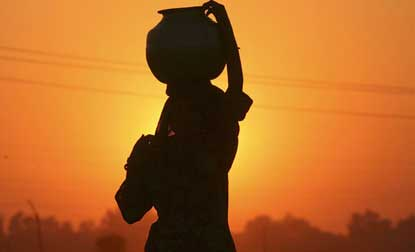 Thirty million people are slaves,half in India:Survey