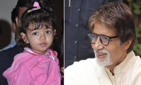 Aaradhya concerned about granddad Amitabh Bachchan's health