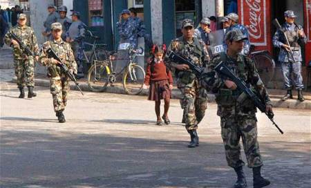 Nepal begins deploying army for Constituent Assembly polls