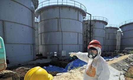 Storm caused radioactive leaks at Fukushima nuclear plant: Operator
