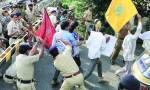 Homeguard jawans clash with policemen