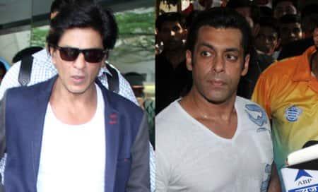 Shah Rukh Khan beats Salman Khan,tops the list of attractivepersonalities