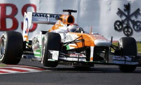 Formula One: Force India's 'hashtag' tribute to Sachin Tendulkar