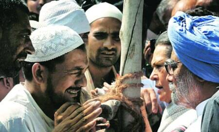 We do not have food to eat,who cares about Pakistani agents: Riot victim who metRahul