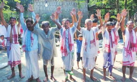 Witch-hunt Island	: For 22 days,35 people in Assam's Majuli put through 'purification'