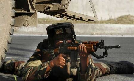 Pakistan continues firing at Indian posts along LoC,JCOkilled