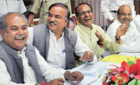 MP BJP office breathes easy as action shifts toDelhi
