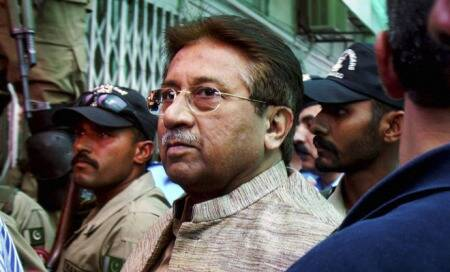 Gen Pervez Musharraf for treason trail proceedings.