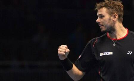Stanislas Wawrinka,Del Potro give taste of things to come