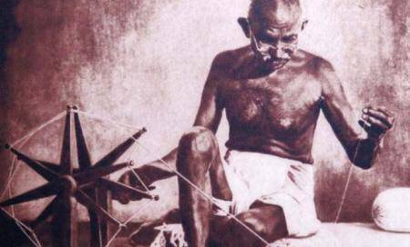 Mahatma Gandhi's prison 'charkha' sold for 110,000 pounds at UK auction