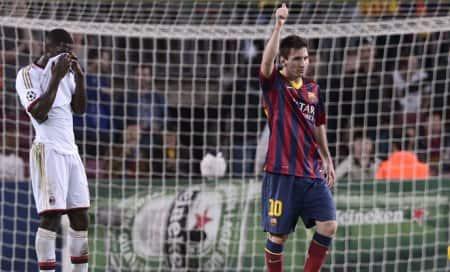 Barcelona and Atletico Madrid sail into last16