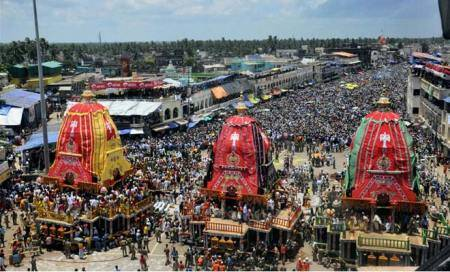Shankaracharya,Gajapati King to be allowed on Jagannath's Rath