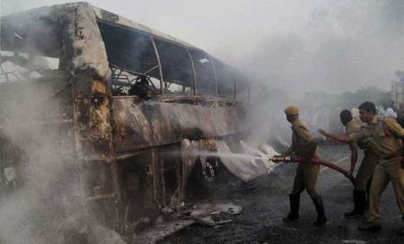 After fire,Karnataka corpn buses to have emergency measures likeairlines