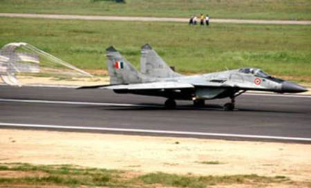 MiG-29 fighter jet crashes