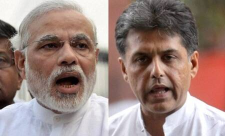 Narendra Modi and Manish Tewari in war of words over media coverage ofspeeches