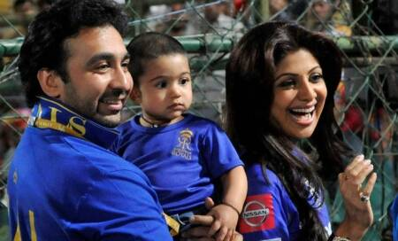 Shilpa Shetty's son Viaan is 'youngest baby to do full 30 minute rapid river lap'?